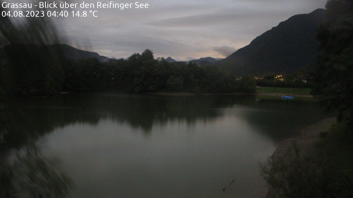 Webcam Grassau: Reifinger See