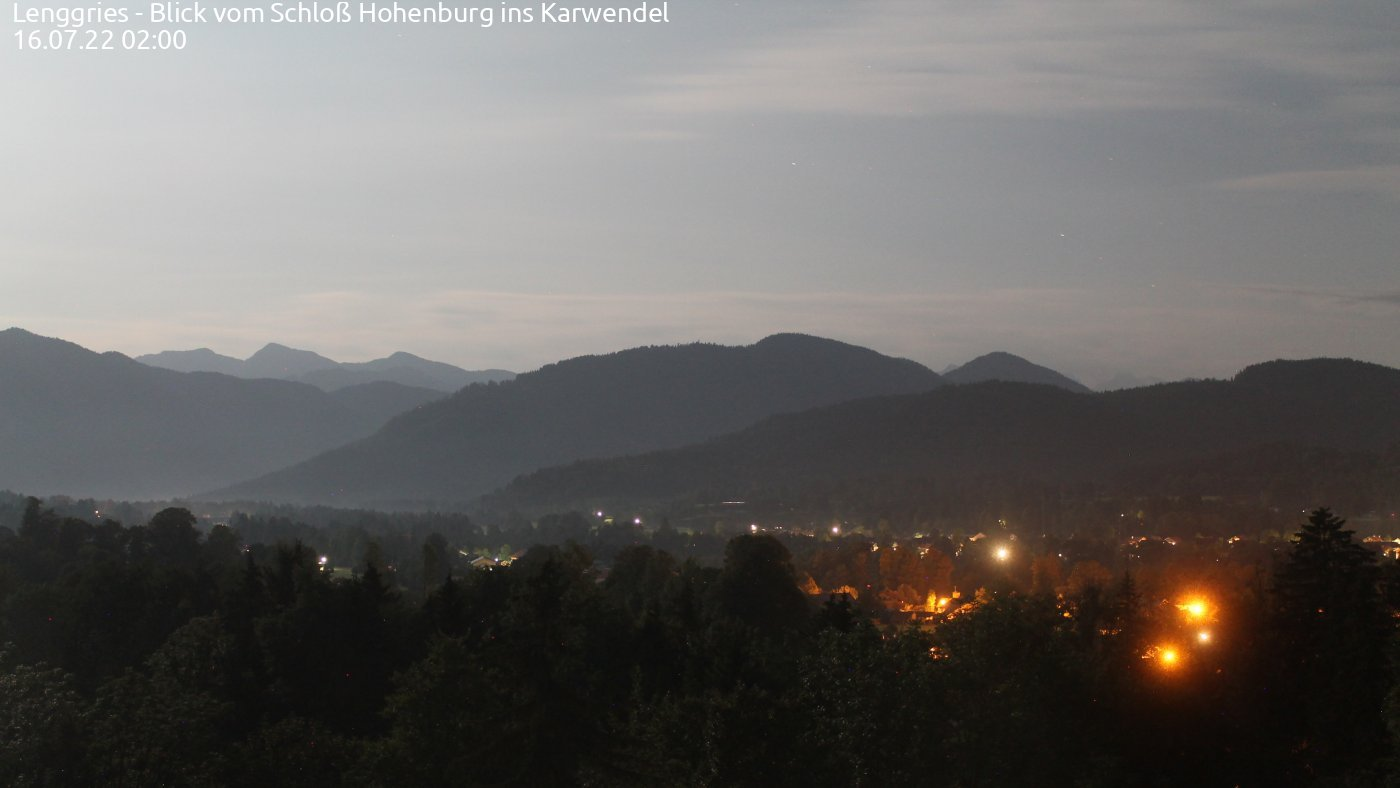 Hohenburg - (Blick ins Karwendel)